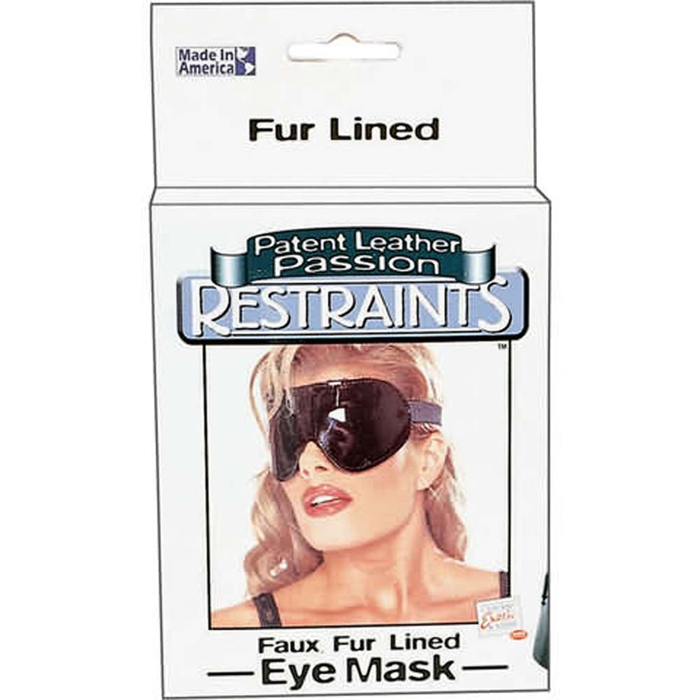 Eye Mask Patent Leather Passion Restraints - View #1