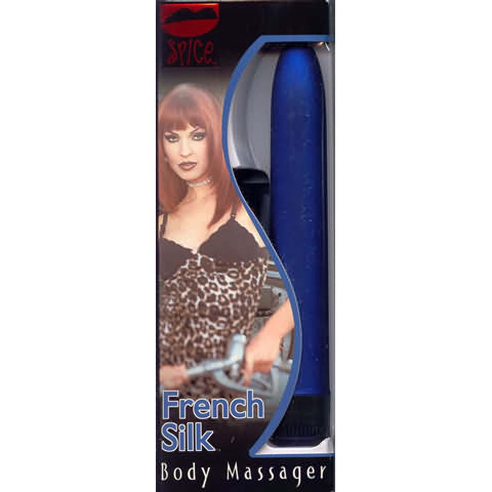 French Silk Body Massager Blue - View #1