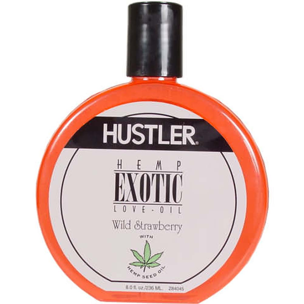 Exotic Hemp Love Oil Wild Strawberry Flavor - View #1