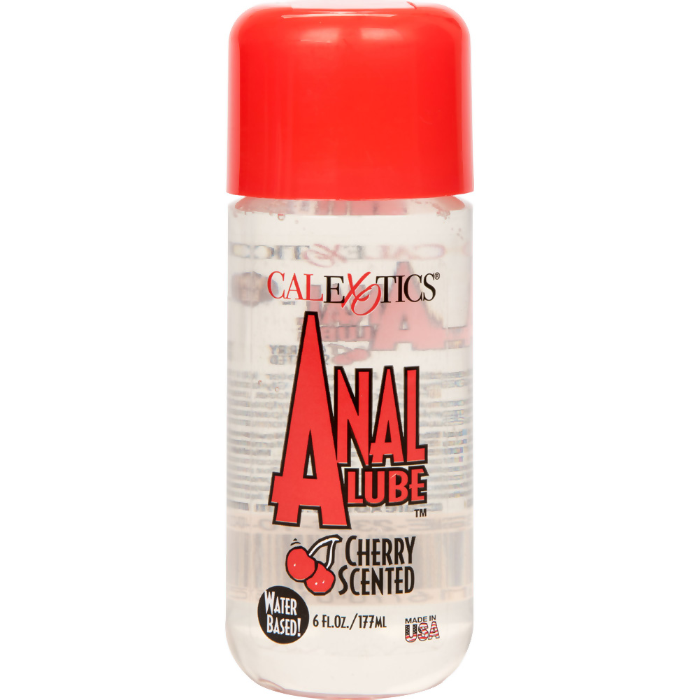 CalExotics Anal Lube for Men and Women 6 Fl.Oz 177 mL Cherry Scented - View #2