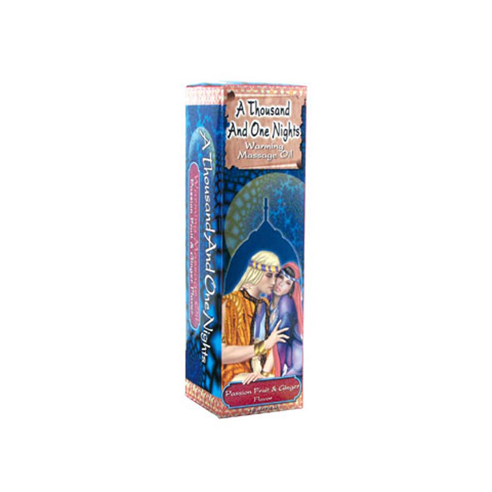 1001 Nights Massage Oil Passion Fruit and Ginger 4 Fl. Oz - View #1