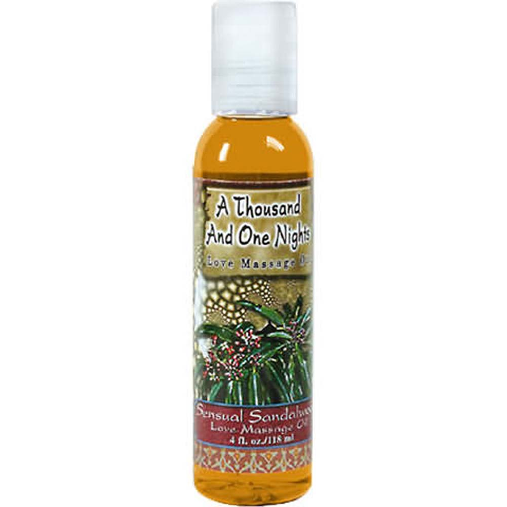 1001 Nights Massage Oil Sensual Sandalwood - View #2