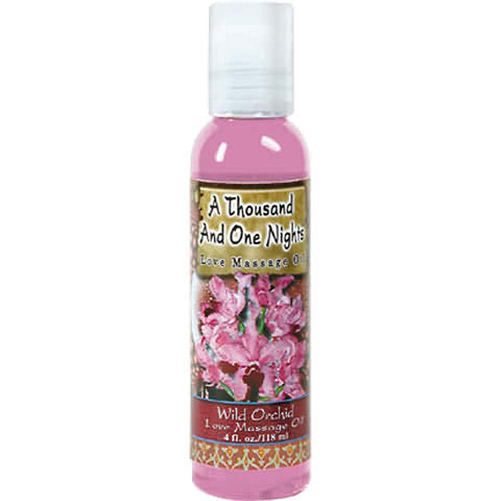 1001 Nights Massage Oil Wild Orchid 4 Fl. Oz. - View #2