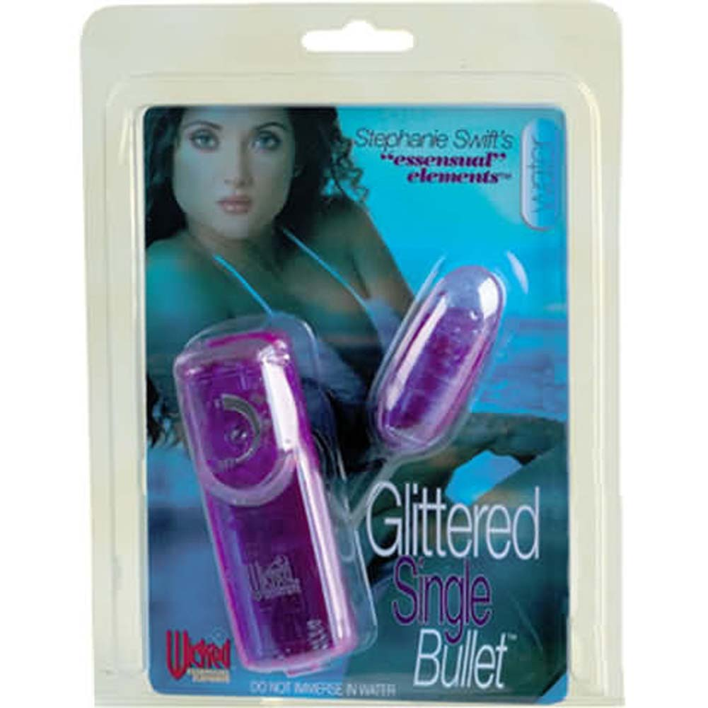 Wicked Stephanie Swifts Glittered Single Bullet 2.5 In. - View #1