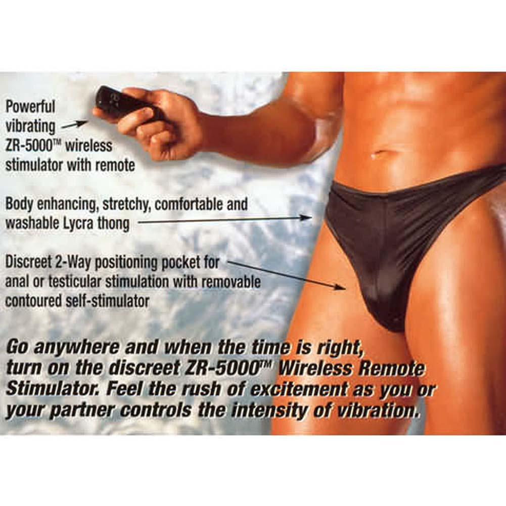 Remote Control Vibrating Thong - View #1
