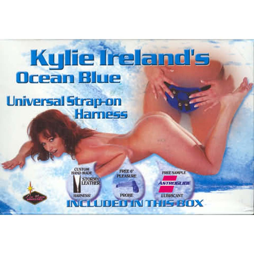 Kylie Ireland Ocean Blue Universal Strap-On Harness Kit - View #3