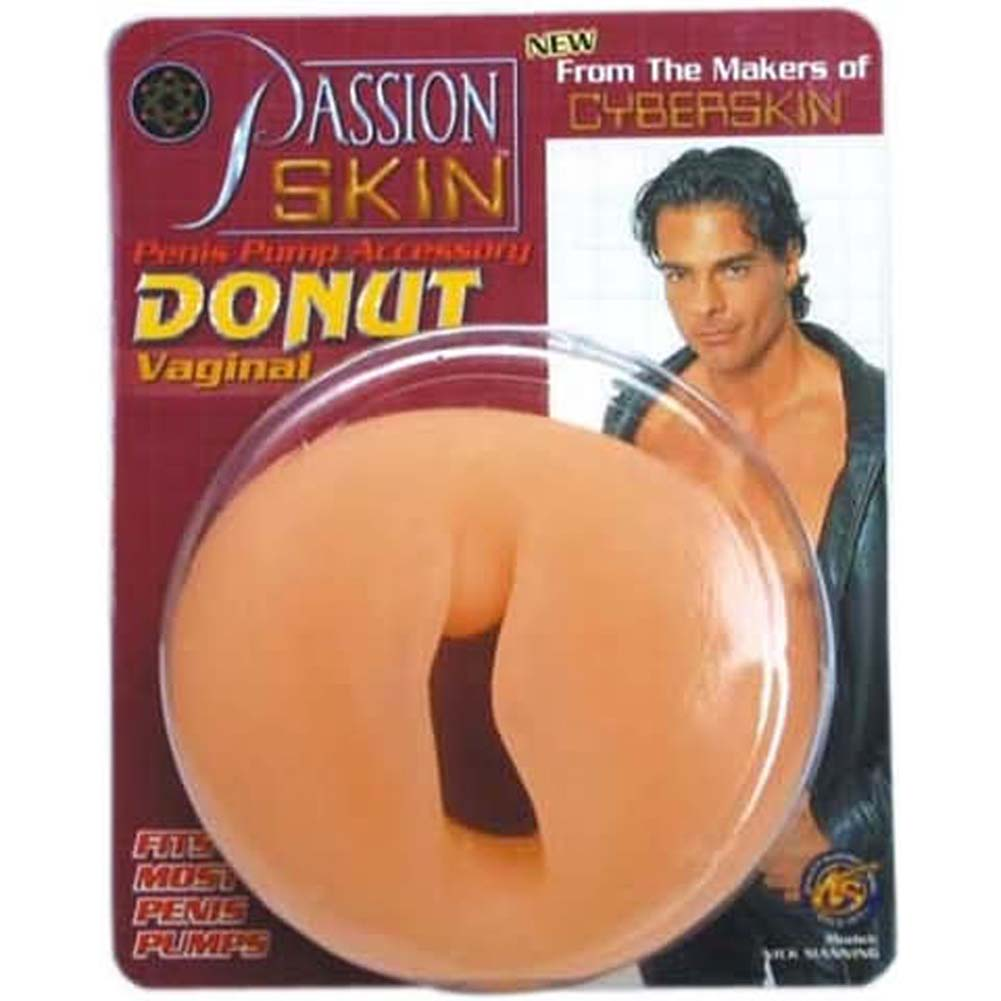 Passion Skin Pump Donut Vaginal - View #1