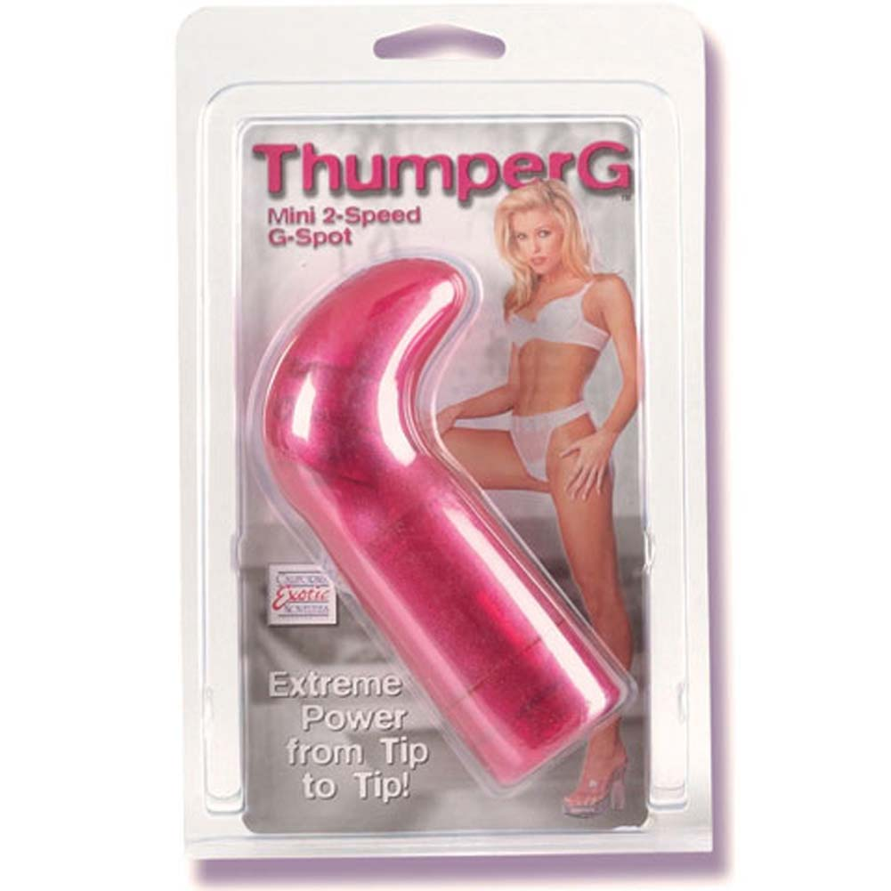 Thumper G Mini Vibe Rose 5 In - View #1
