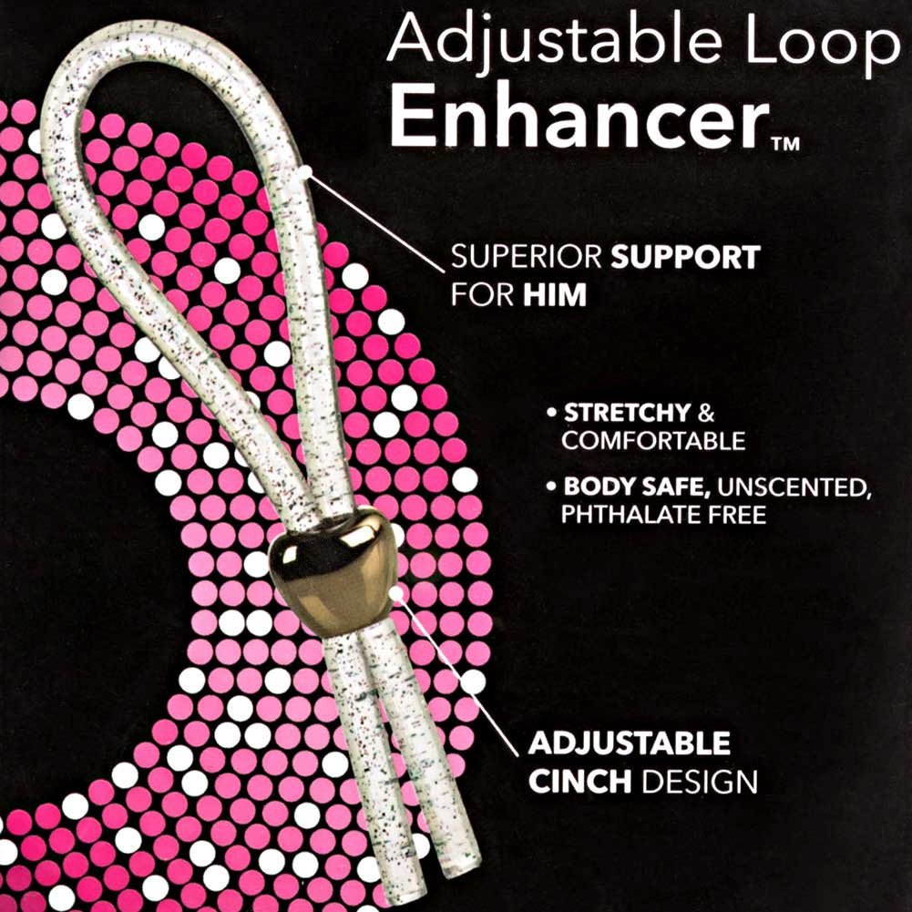 Adjustable Loop Erection Enhancer for Men Clear - View #1