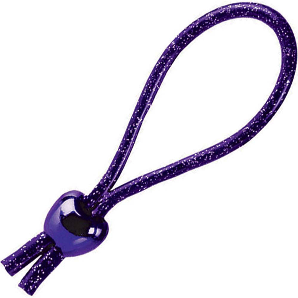 Adjustable Loop Erection Enhancer for Men Purple - View #2