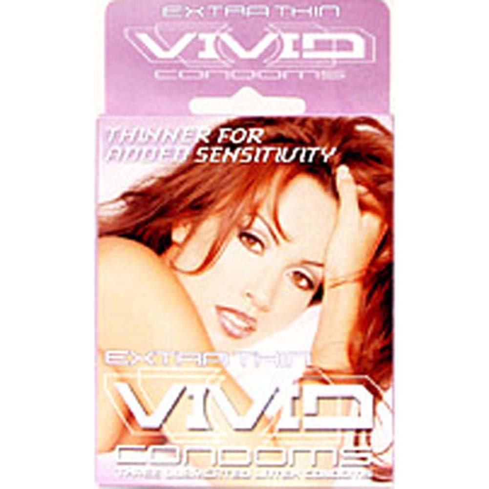 Vivid Extra Thin Condoms 3 Pack - View #1