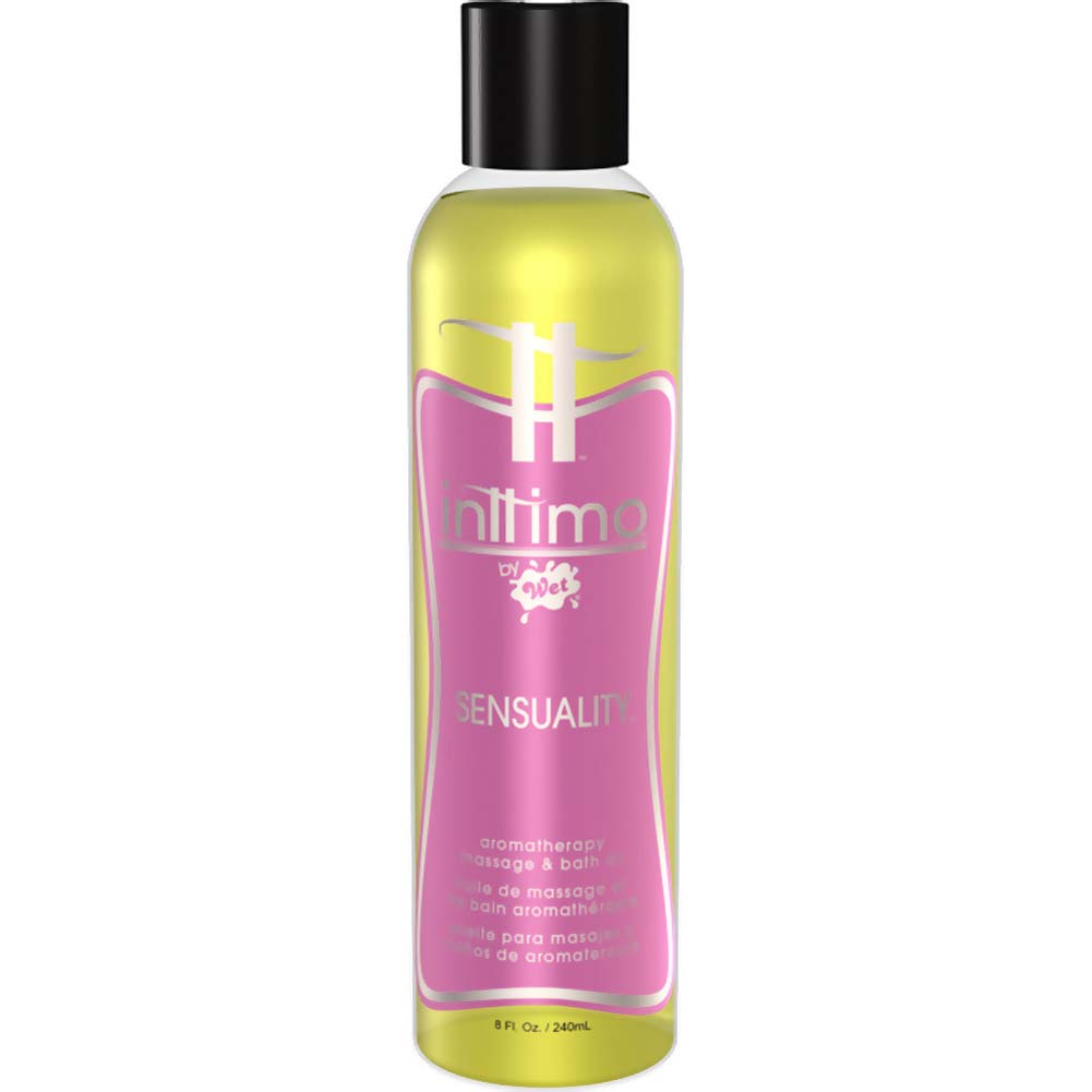 Wet Aromatherapy Massage Oil Sensuality 8 Oz. - View #1