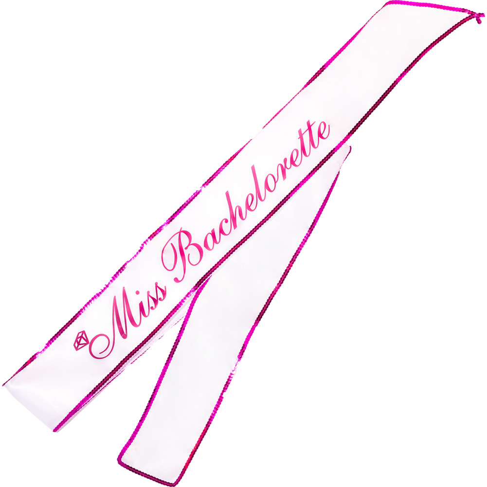 Miss Bachelorette Party Sash 5 Feet - View #2