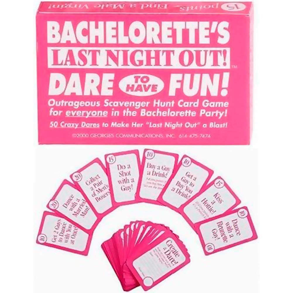 Bachelorette Dare To Have Fun Card Game - View #1
