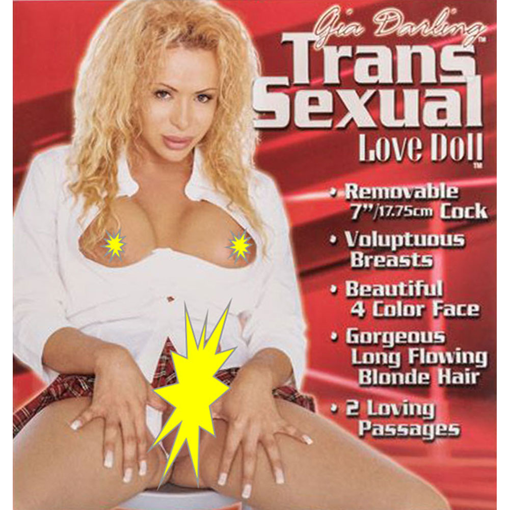 Gia Darling Inflatable Transsexual Love Doll - View #2