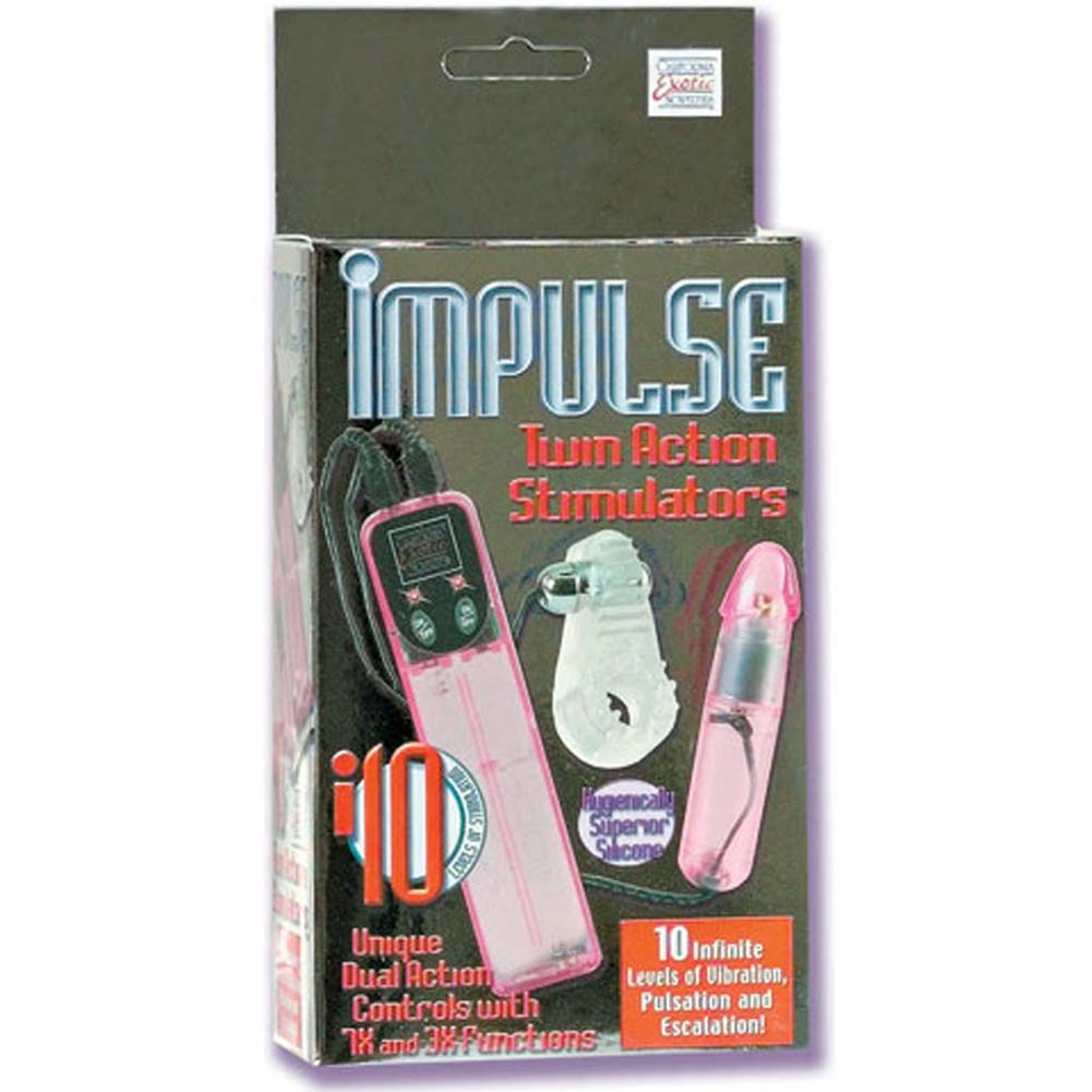 Impulse Twin Action Silicone Stimulators - View #1