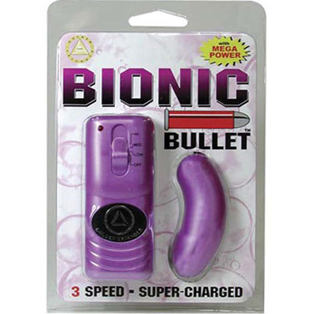 "Curved Bionic Vibro Bullet 2.5"" Lavender - View #1"