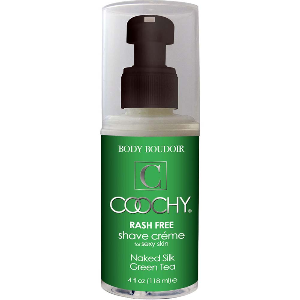 Coochy Rash Free Shave Creme Naked Silk Green Tea 4 Fl. Oz. - View #1