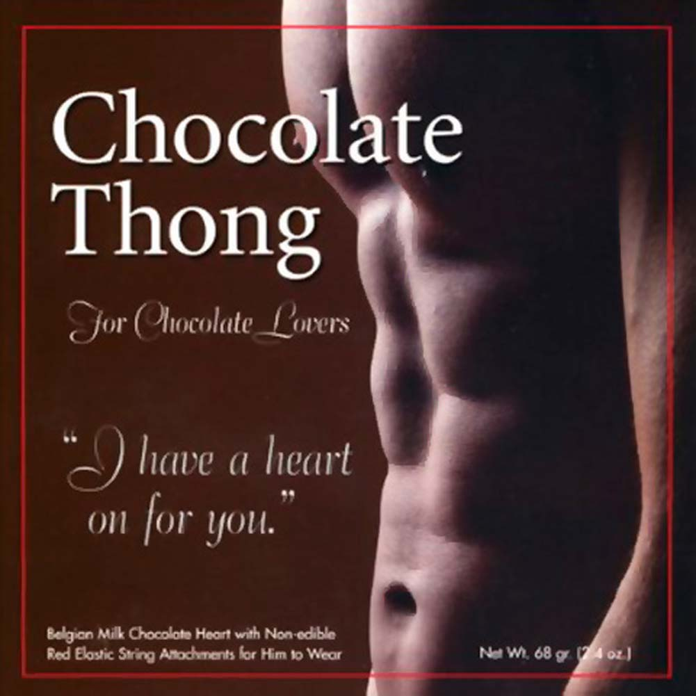 Chocolate Thong For Him - View #1
