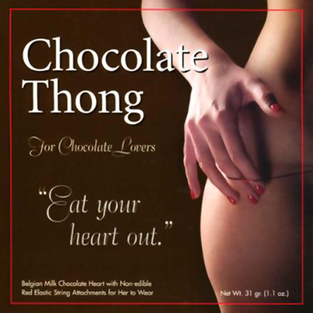 Chocolate Thong For Her - View #1