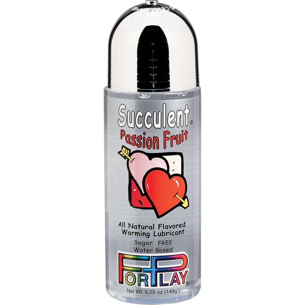 ForPlay Succulents All Natural Flavored Warming Lubricant 5.25 Fl.Oz Passion Fruit - View #1
