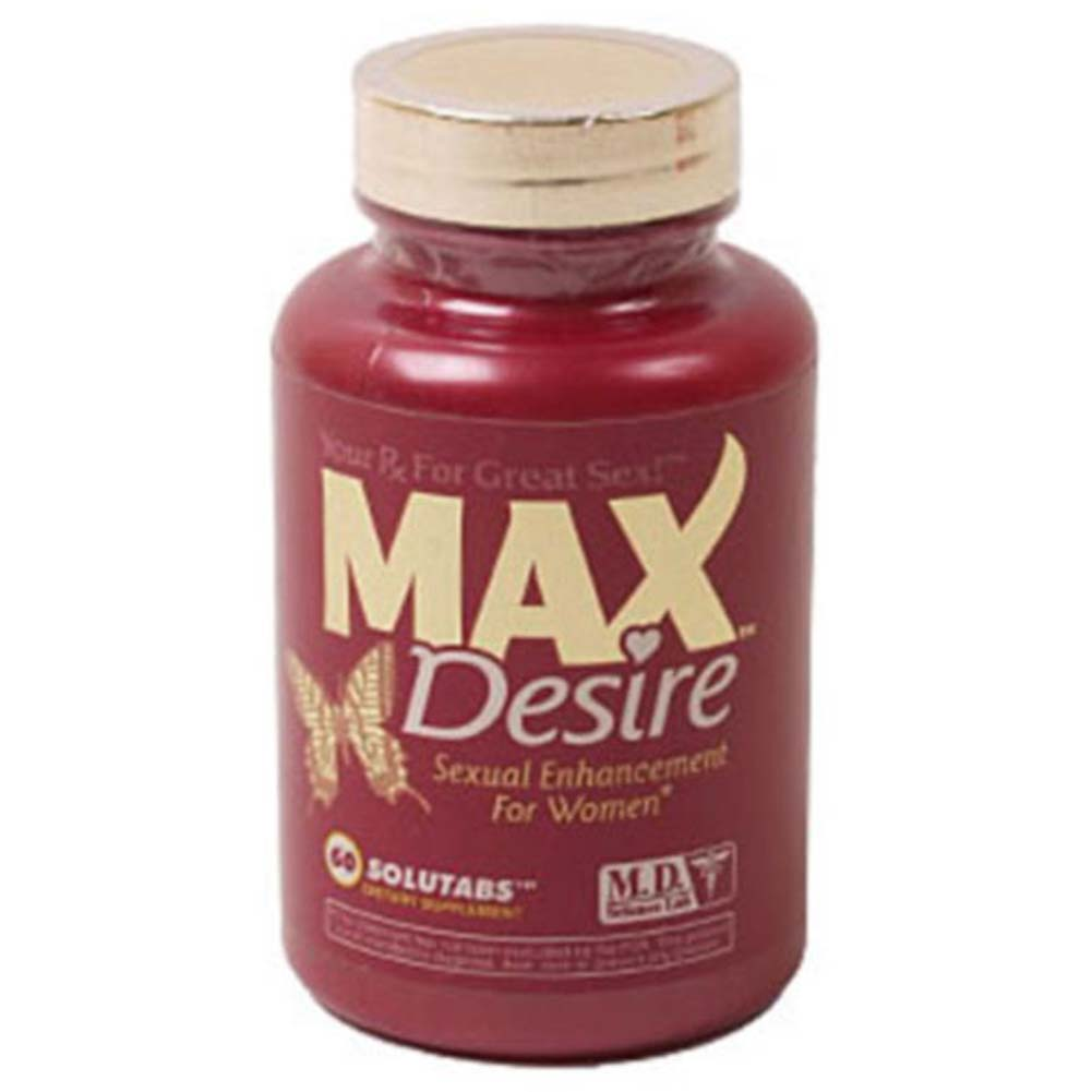 MAX Desire Sexual Enhancement for Women 60 Vegie Caps - View #1