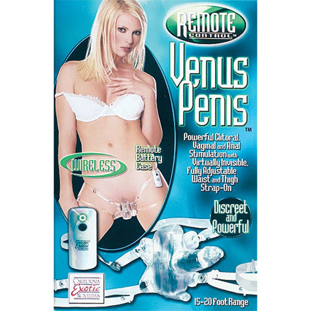 Remote Control Jelly Venus Penis 2.5 In. - View #1