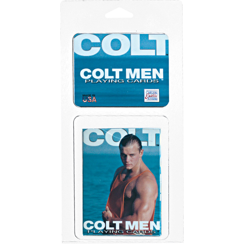 Colt Men Playing Cards - View #1
