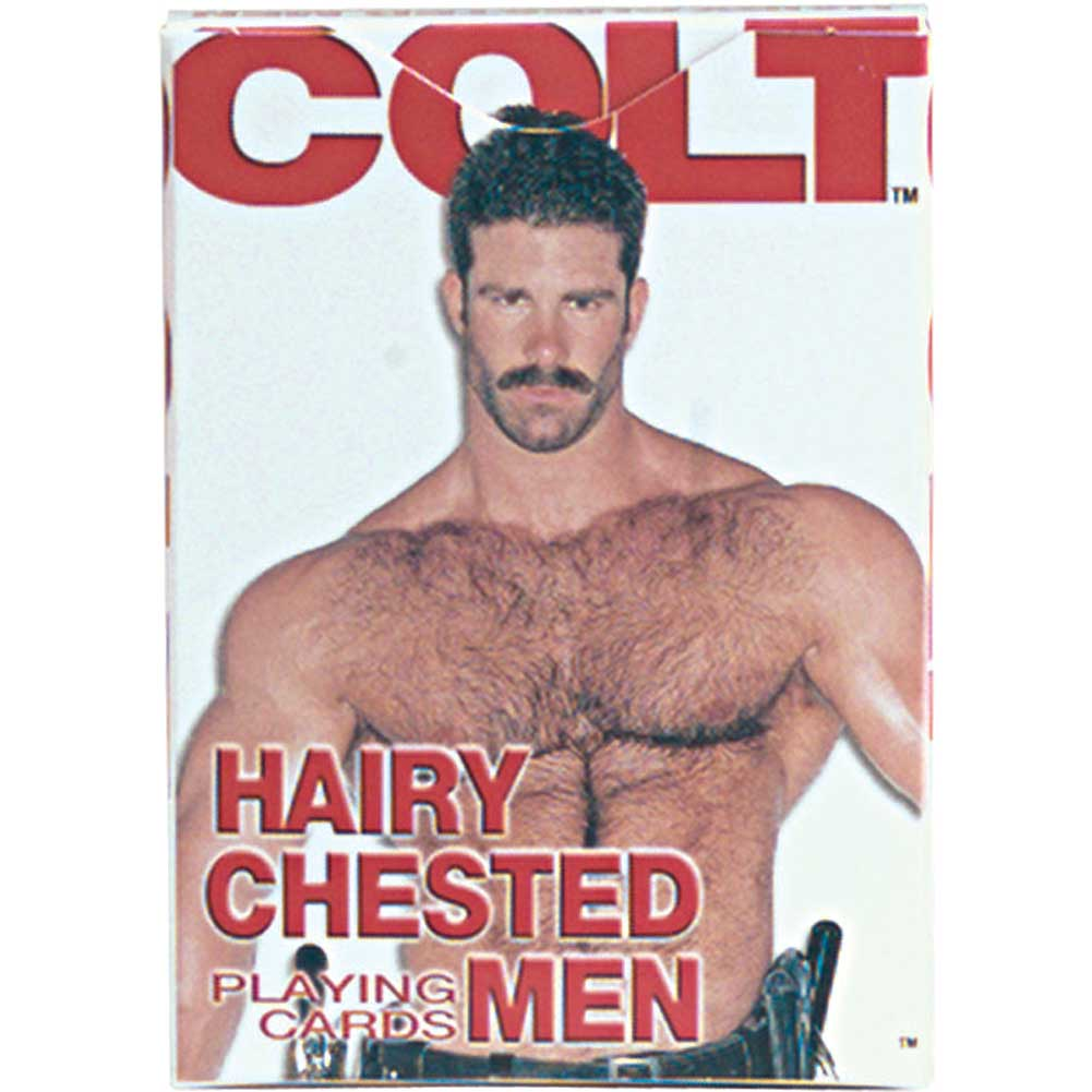 California Exotics COLT Hairy Chested Men Playing Cards - View #2
