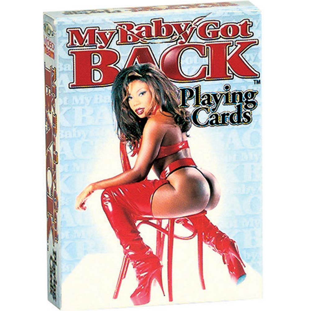 My Baby Got Back Playing Cards/EXPLISIT IMAGE - View #1
