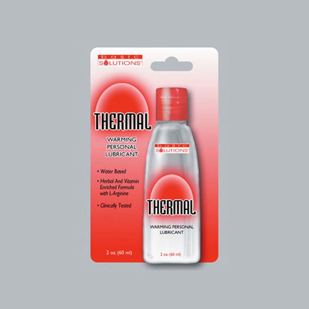 Thermal Warming Personal Lubricant 2 Fl. Oz. - View #1