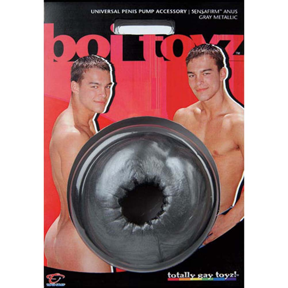 Boi Toyz Pump Accessory SensaFirm Anus Grey Metallic - View #2
