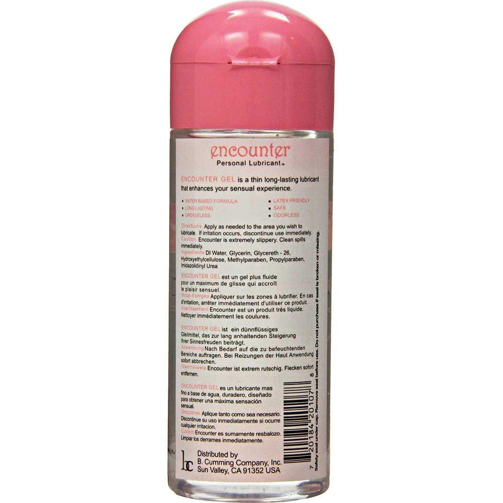 B Cumming Encounter Moisturizing Gel Personal Lubricant 8 Fl.Oz. Unscented - View #1