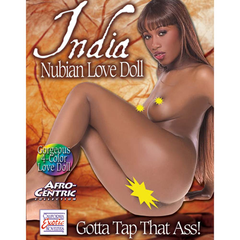 India Nubian Love Doll AfroCentric 4 Color - View #1