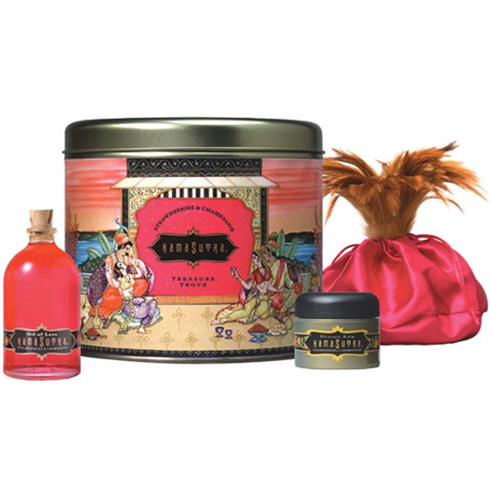 Kama Sutra Treasure Trove Sensual Gift Set Strawberry Dreams - View #2