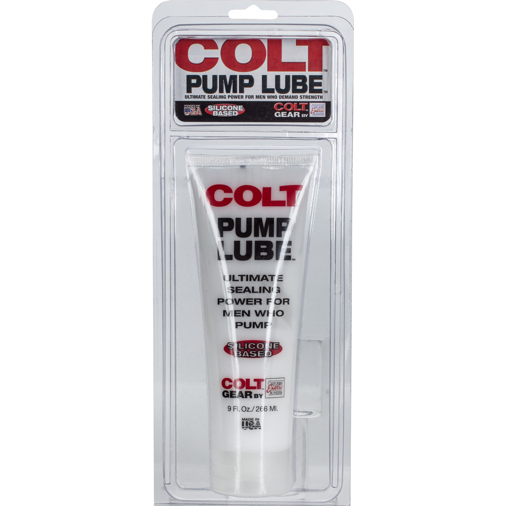 COLT by CalExotics Pump Silicone Based Lube 9 Fl.Oz 266 mL - View #1