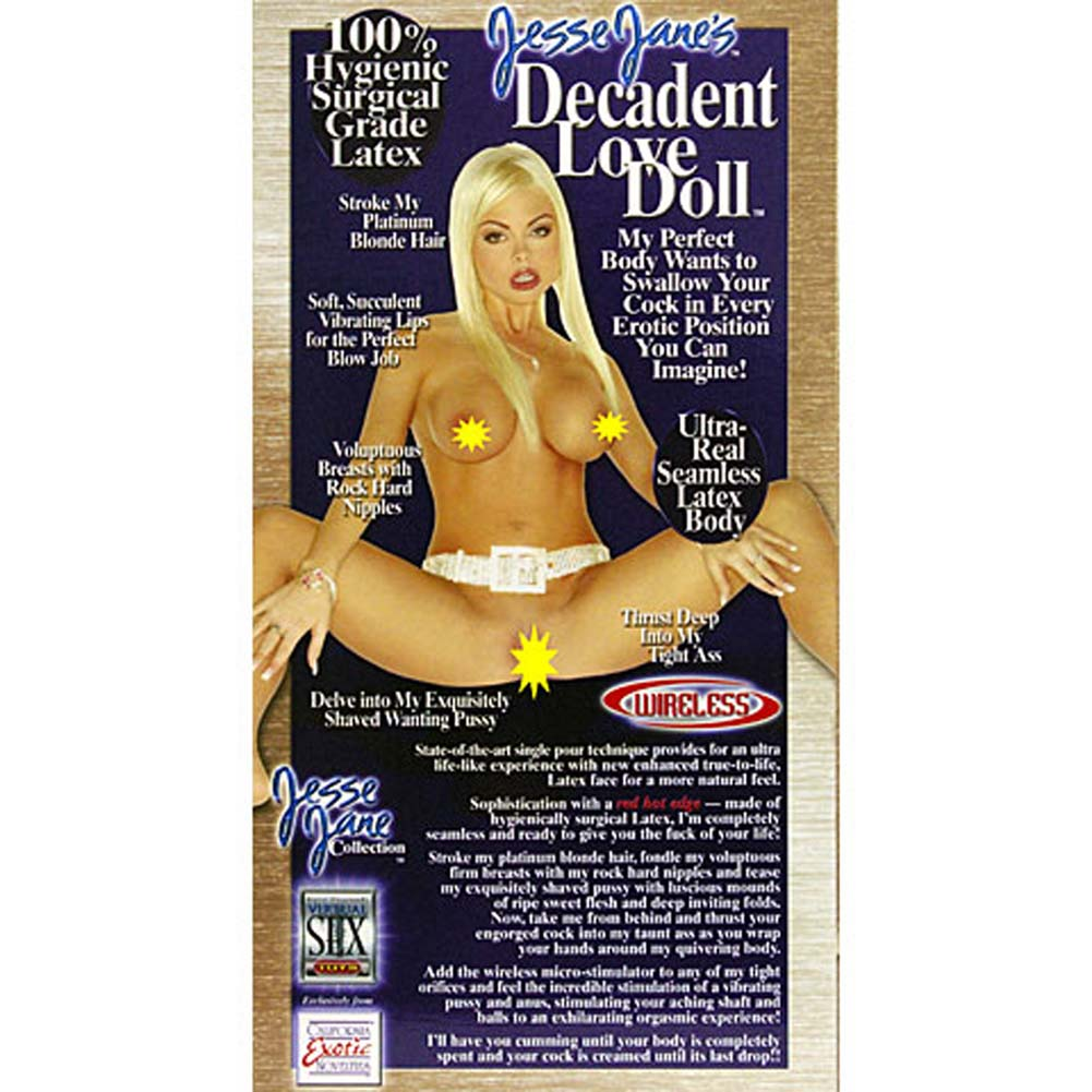 Jesse Janes Decadent Vibrating Love Doll - View #4