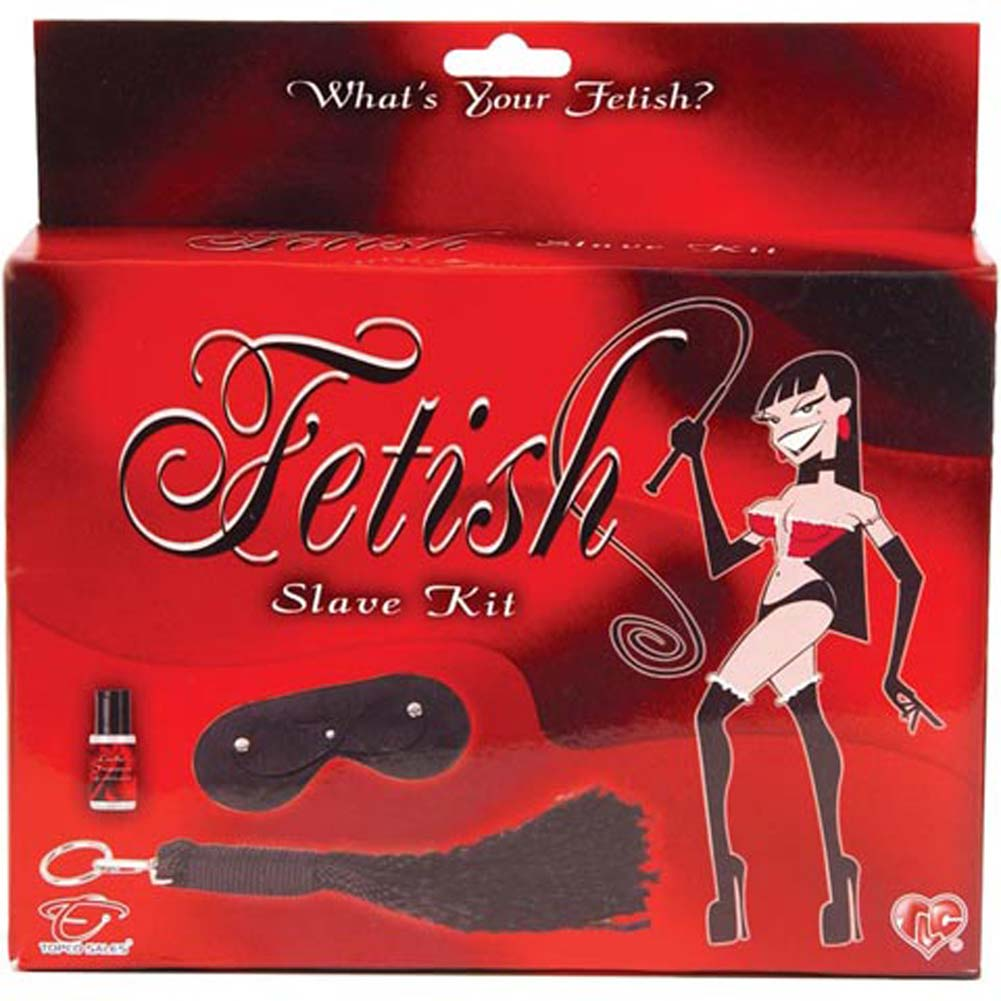 "Fetish Slave Kit Black 14.5"" - View #1"
