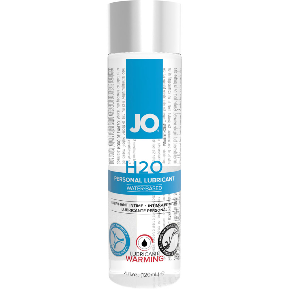 JO H2O Warming Personal Water Based Lubricant 4 Fl. Oz. - View #1