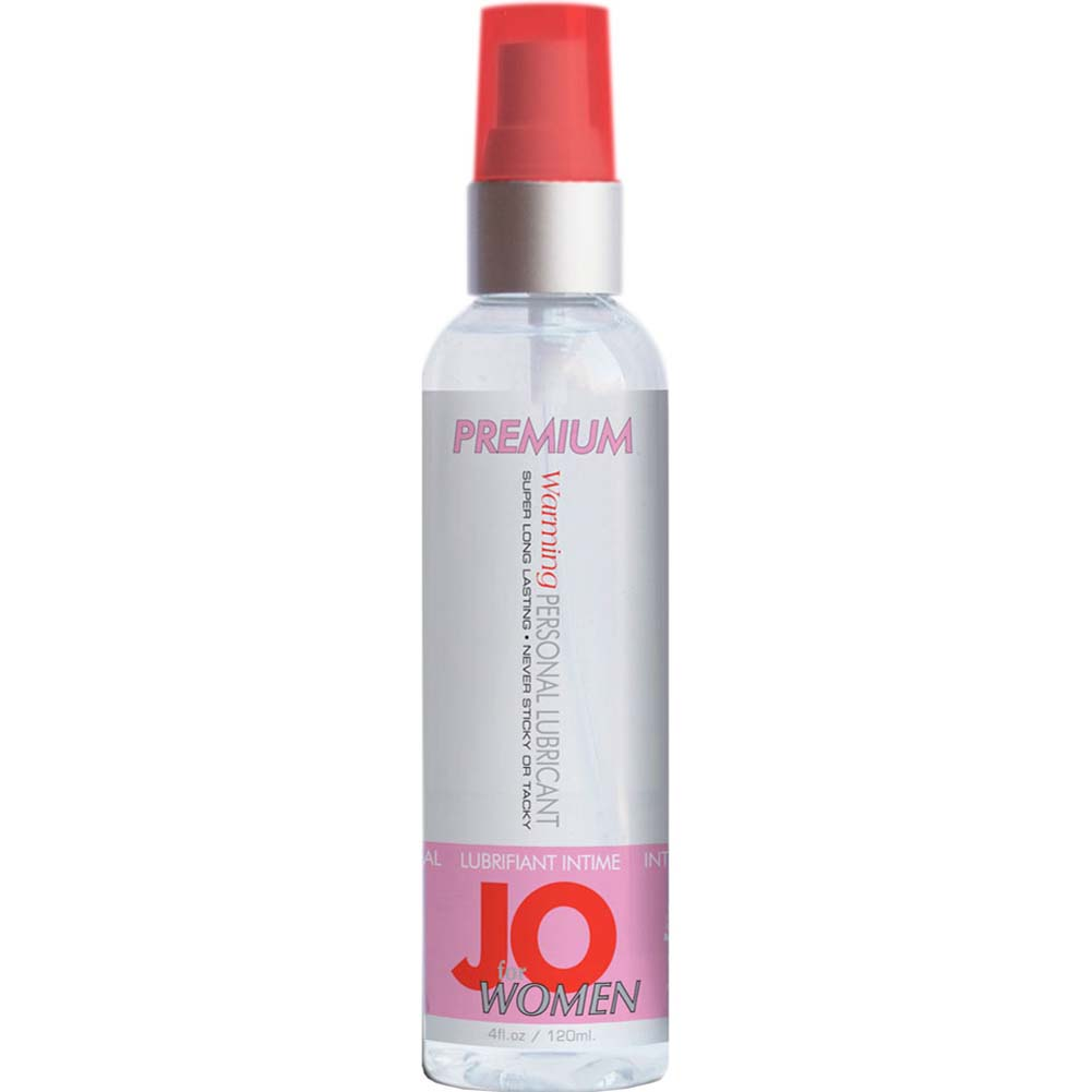 JO for Women Premium Warming Personal Lube 4 Fl. Oz. - View #1