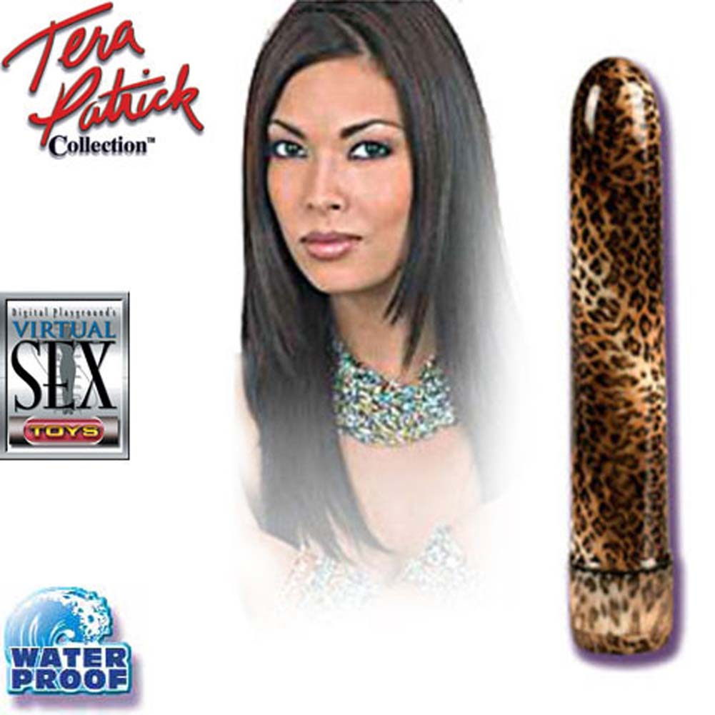 Tera Patricks Waterproof Vibrating Leopard Massager 7.5 In. - View #3