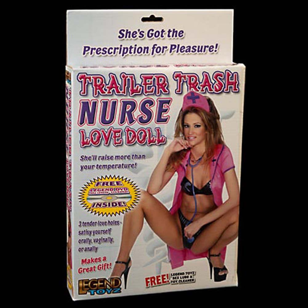 Trailer Trash Nurse Love Doll - View #1