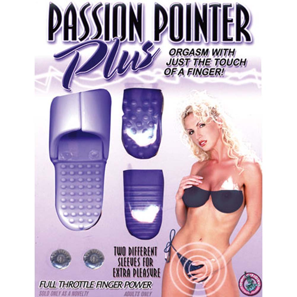 "Passion Pointer Plus Mini Vibe 2.5"" Lavender - View #4"