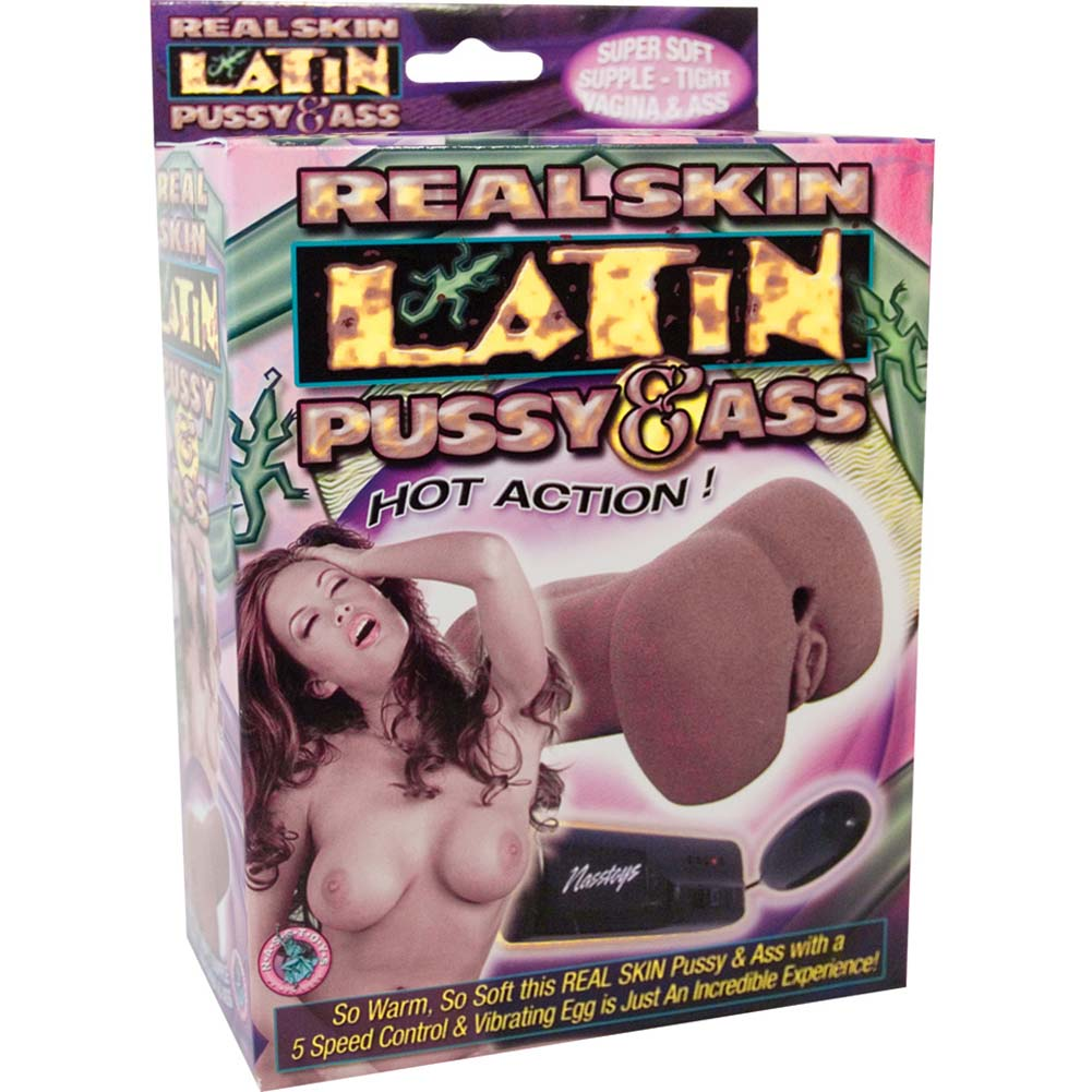 RealSkin Latin Vibrating Pussy and Ass Masturbator - View #4
