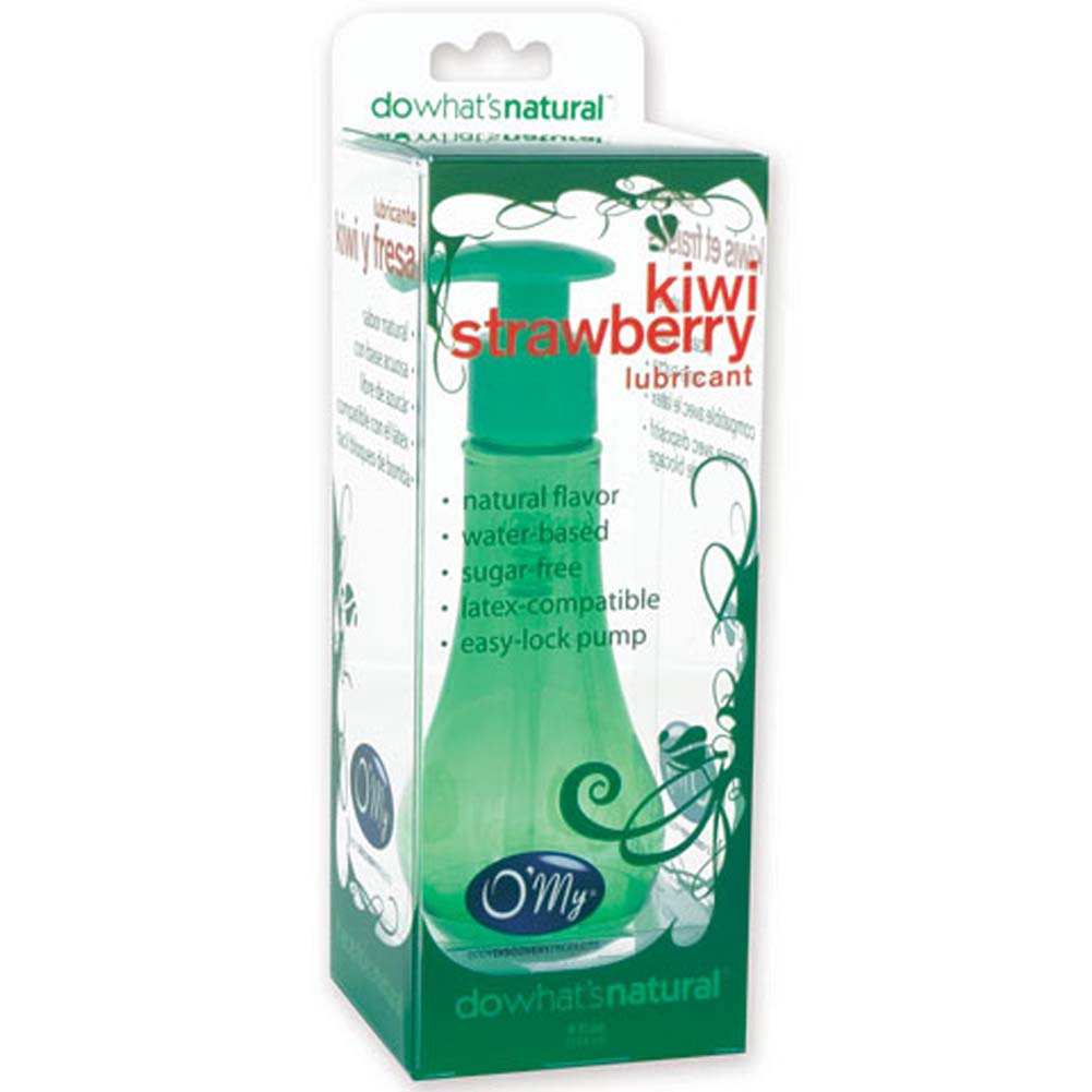 OMy Flavored Lubricant Kiwi-Strawberry 4 Fl.Oz. - View #2