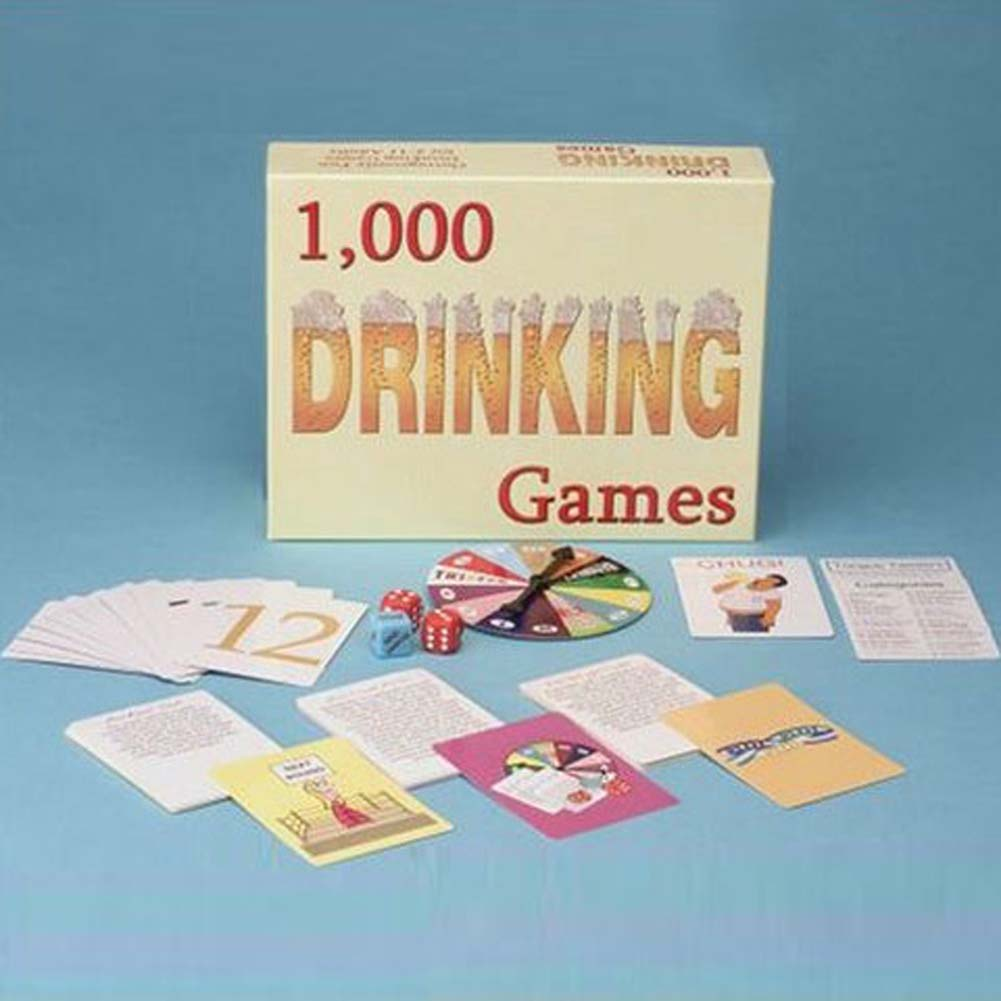 1000 Drinking Games From Kheper Games - View #1