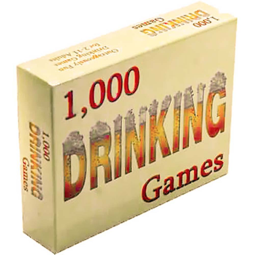 1000 Drinking Games From Kheper Games - View #3