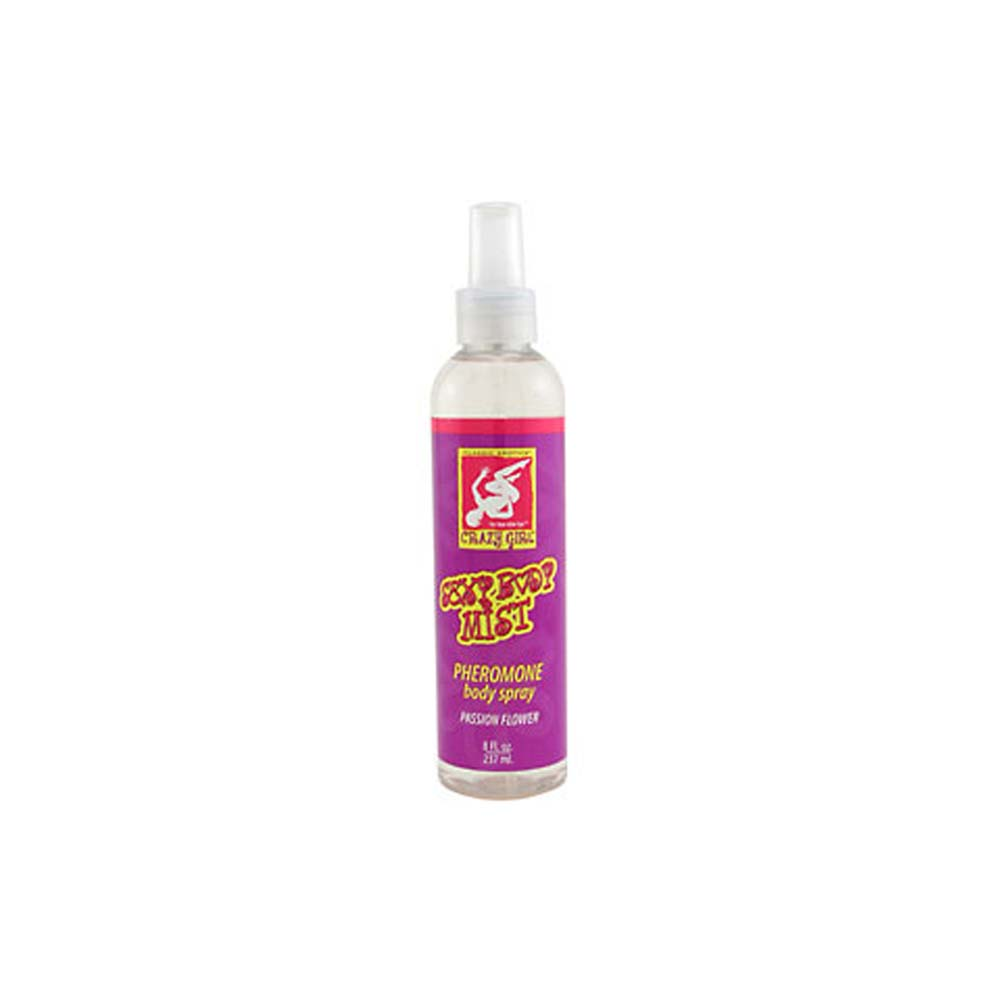Crazy Girl Wanna Be Sexy Flirty Body Mist with Pheromones 6 Fl. Oz Plumeria - View #1