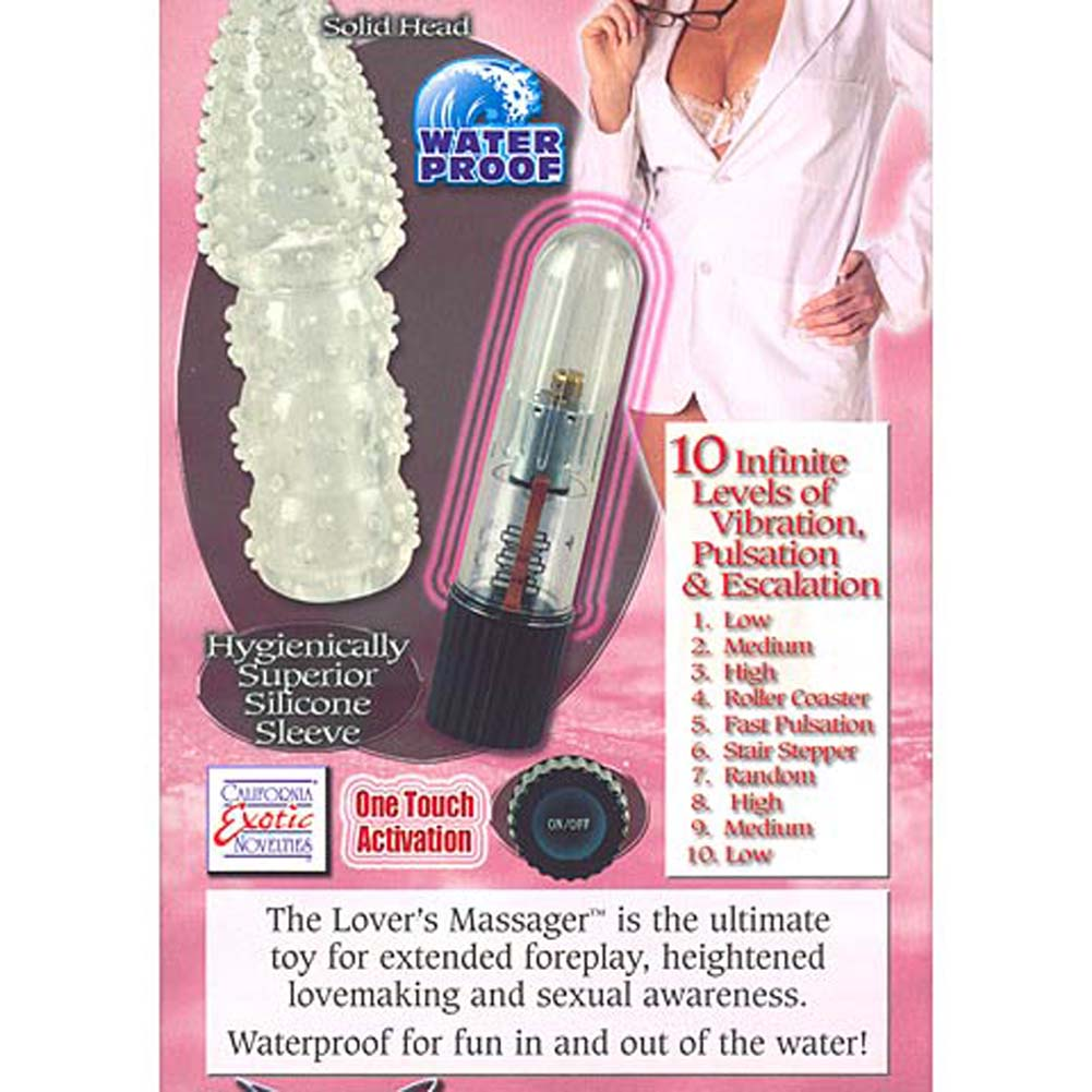 "Dr. Z. Lovers Vibrating Silicone Massager 4.5"" - View #3"