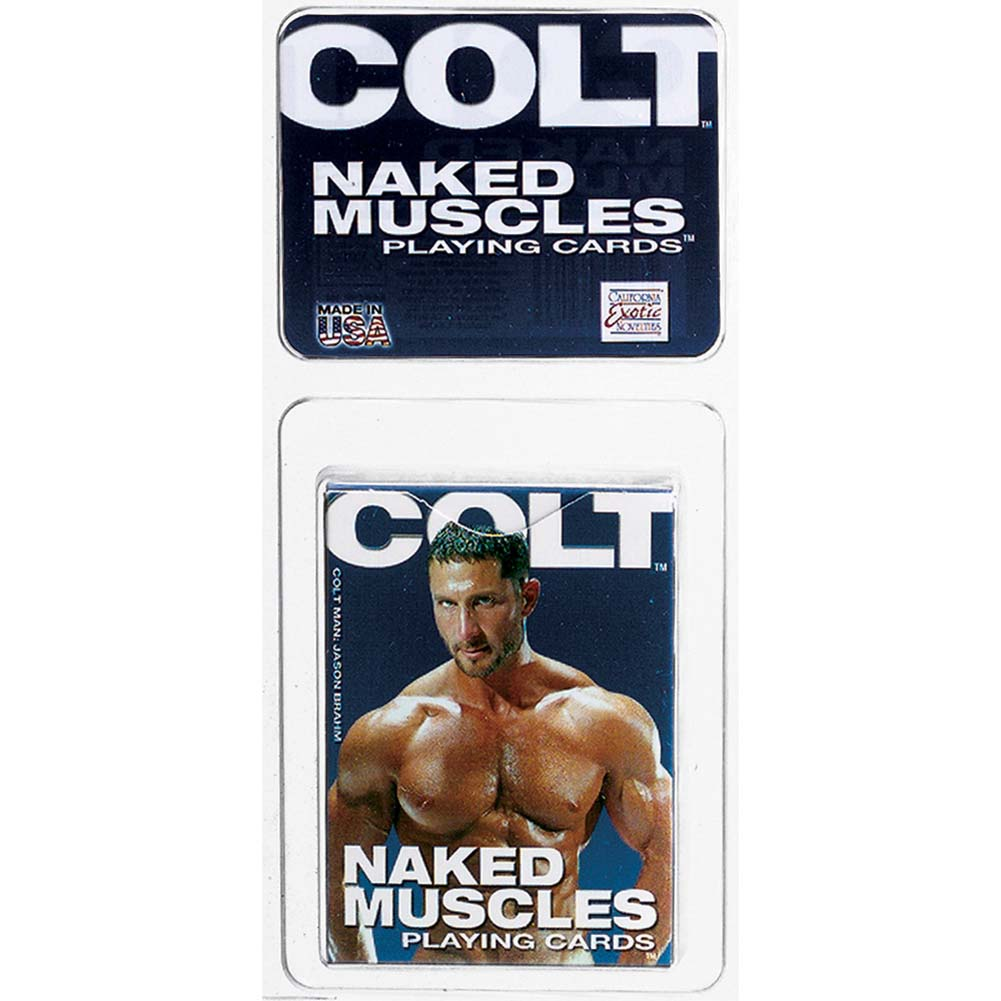 COLT by CalExotics Naked Muscles Playing Cards - View #1
